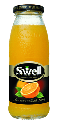 Swell апельсин 0,25 л.
