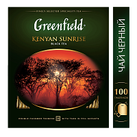 Greenfield Kenyan Sunrise Чай черный 100 шт.