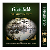 Greenfield Earl Grey Fantasy Чай черный 100 шт.