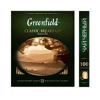 Greenfield Classic Breakfast Чай черный 100 шт.
