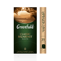 Greenfield Classic Breakfast Чай черный 25 шт.